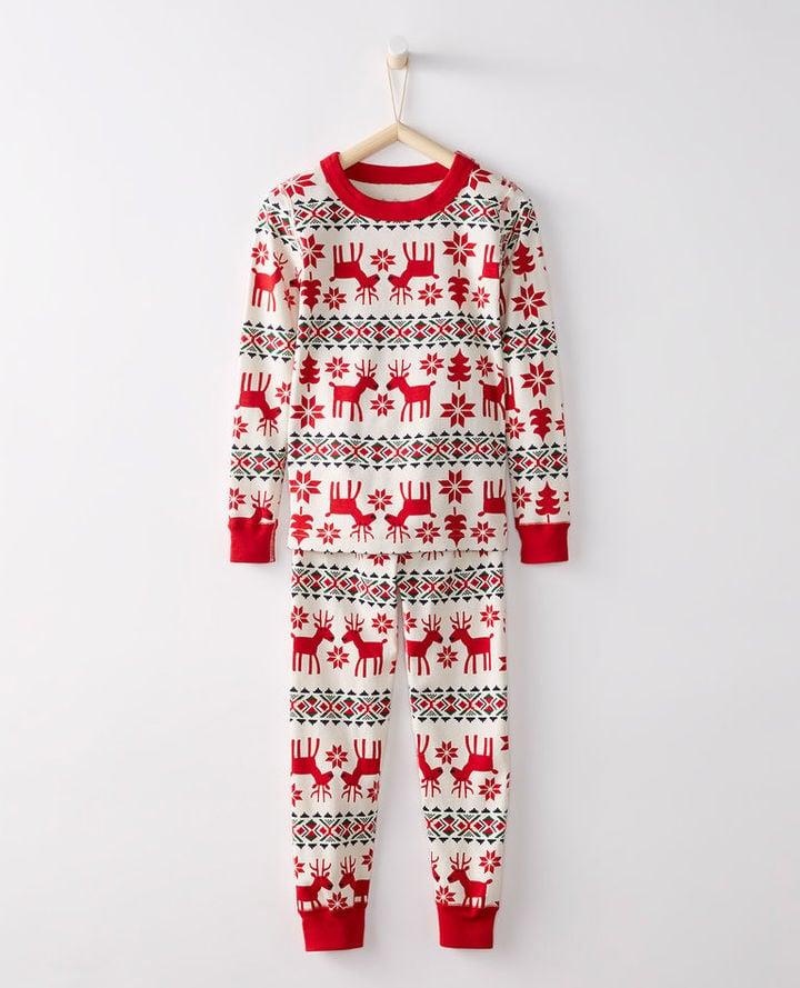 bb9c6fb7a Hanna Andersson Long John Pajamas In Organic Cotton