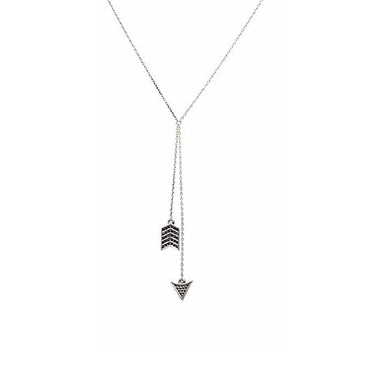 House of Harlow 1960 Arrow Wrap Necklace with Pave, $90