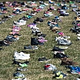Activists Left 7,000 Pairs of Shoes Outside the Capitol to Beg Congress to Confront Gun Violence