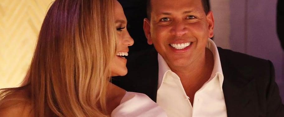 Jennifer Lopez and Alex Rodriguez Engagement Party Pictures