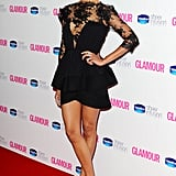 Zoe wore lacy Vionnet at the Glamour Women of the Year Awards in London.