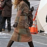 Blake Braves the Big Apple Cold and Gears Up For Tonight's Gossip Girl Return