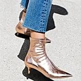 Free People Marilyn Kitten Heel Boot