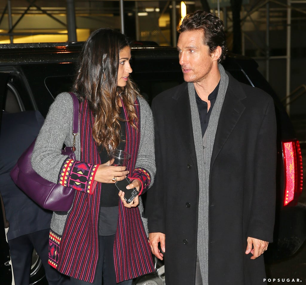 Matthew McConaughey Is in a New York State of Mind