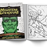 Monsters of Literature Adult Coloring Book of Horror ($9)