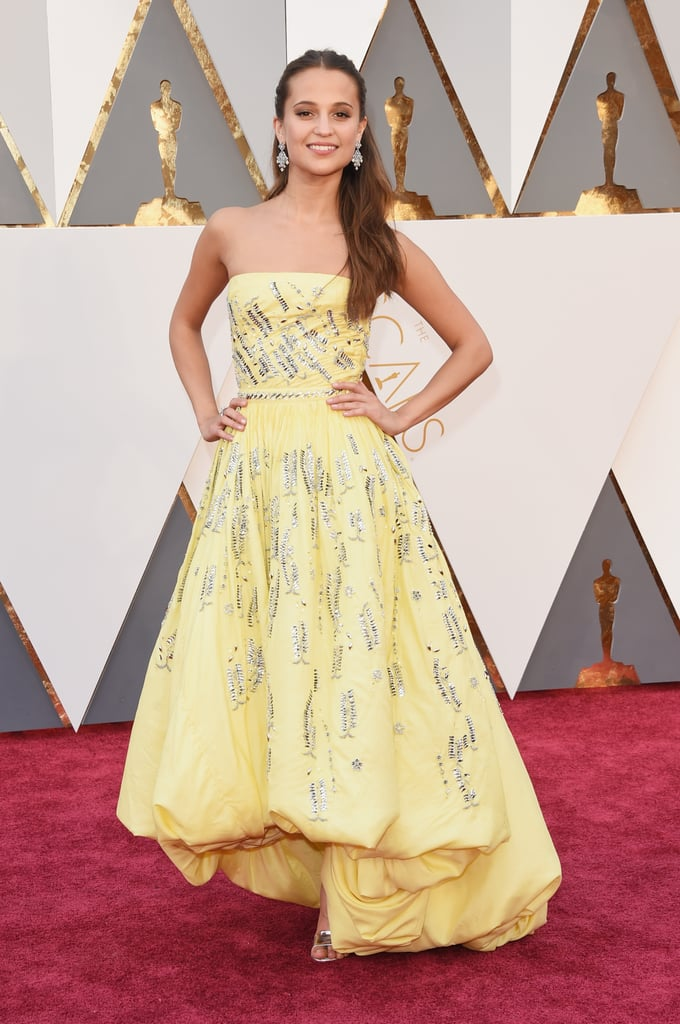Alicia Vikander at the 2016 Academy Awards