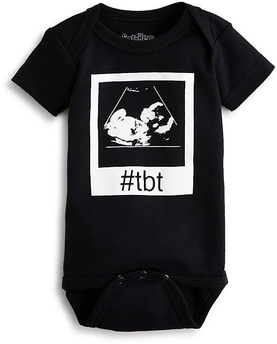 Bloomingdale's Sara Kety Unisex #tbt Bodysuit