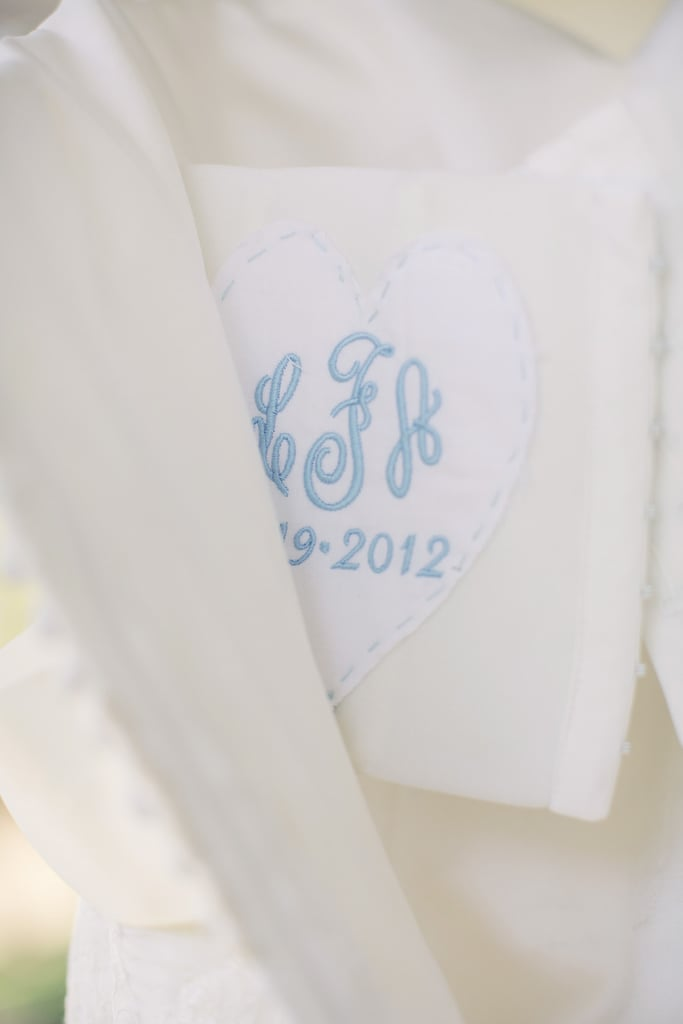 A Monogrammed Lining