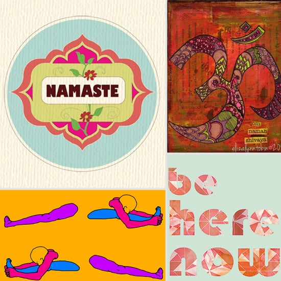 Yoga Posters From Etsy