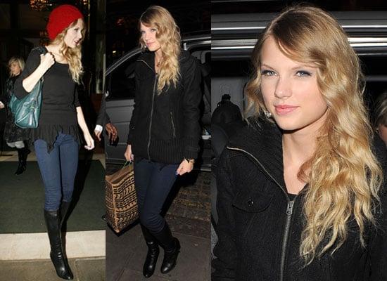 Photos of Taylor Swift in London, Watch Taylor Swift Talk About Taylor Lautner on Paul O'Grady, Taylor Swift InStyle Interview