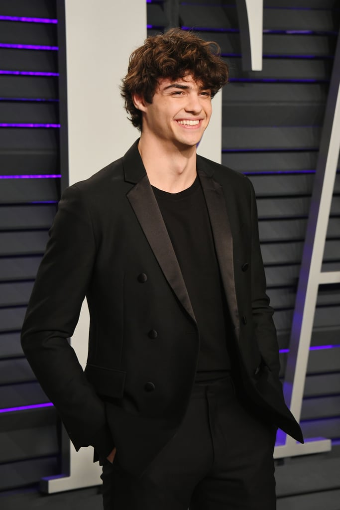 Noah Centineo's Curly Hair in February 2019