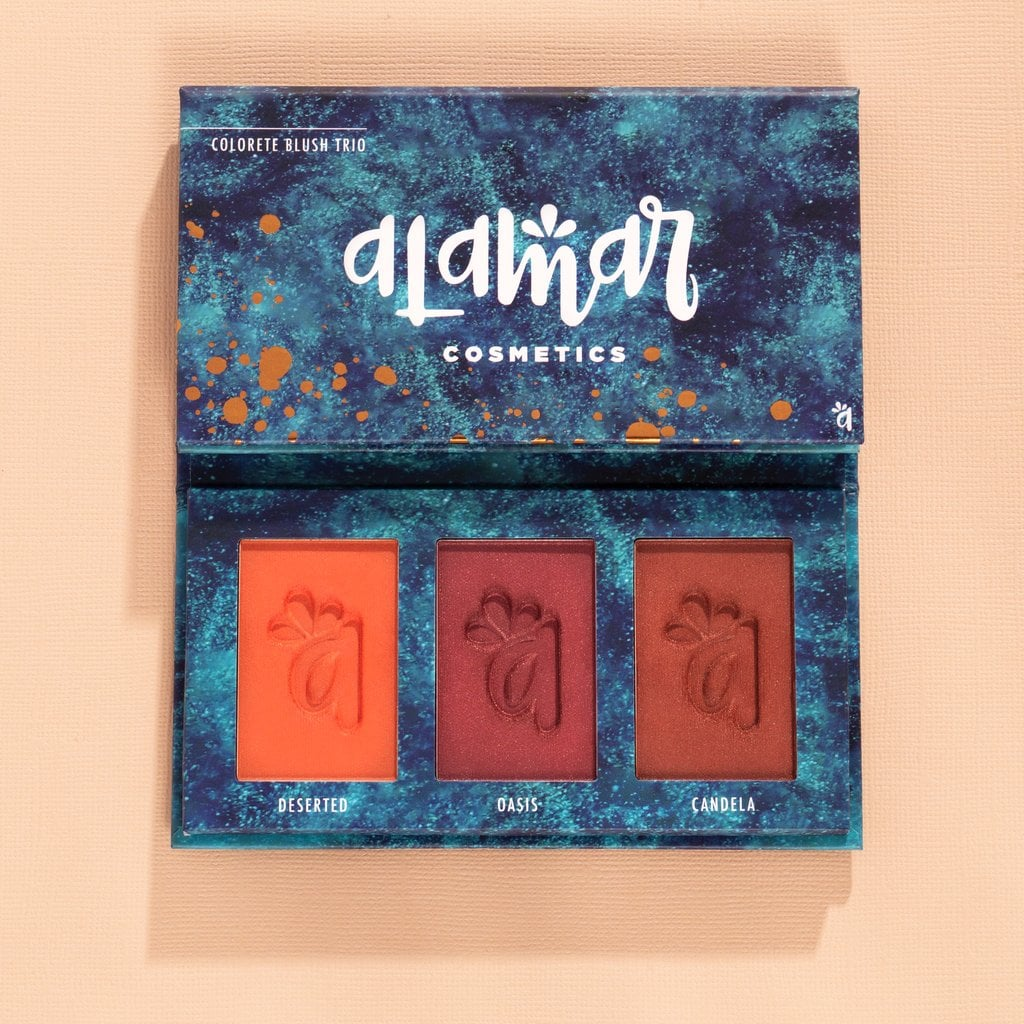 Colorete Blush Trio - Dark/Rich