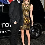 Kate Bosworth arrived with Michael Polish on her arm.
