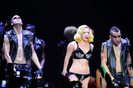 Lady Gaga performs at the Boardwalk Hall Arena on July 4, 2010 in Atlantic City, New Jersey.