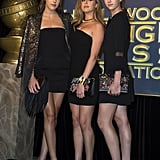 Sistine and Her Sisters, Sophia, and Scarlet, Were Miss Golden Globes 2017