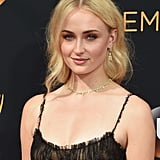 Sophie Turner's Hair at Emmy Awards 2016