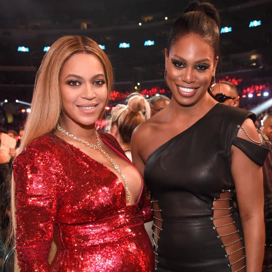 Laverne Cox Talks Meeting Beyonce on Stephen Colbert 2017