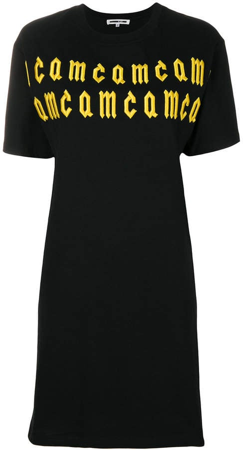 McQ Embroidered Logo T-shirt Dress
