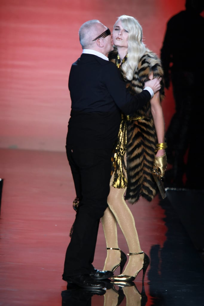 Photos of Spring 2011 Jean Paul Gaultier Ad Campaign, Featuring Karolina Kurkova and Andrej Pejic