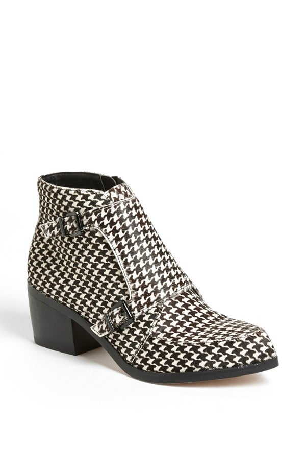 Houndstooth and monk strap? Say no more! These checkered Topshop booties ($170) could single-handedly launch a punk revival movement — I'll be waiting at the front lines. — Mandi Villa, contributing editor