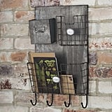 For the Friend Who Always Misplaces Her Keys: Wall Organizer With Key Hooks