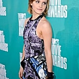 Emma Watson went to the MTV Movie Awards.