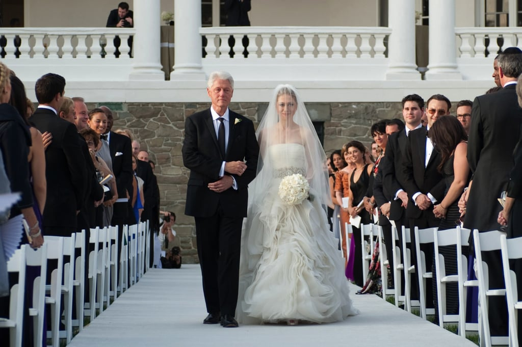 Image result for chelsea clinton wedding dress