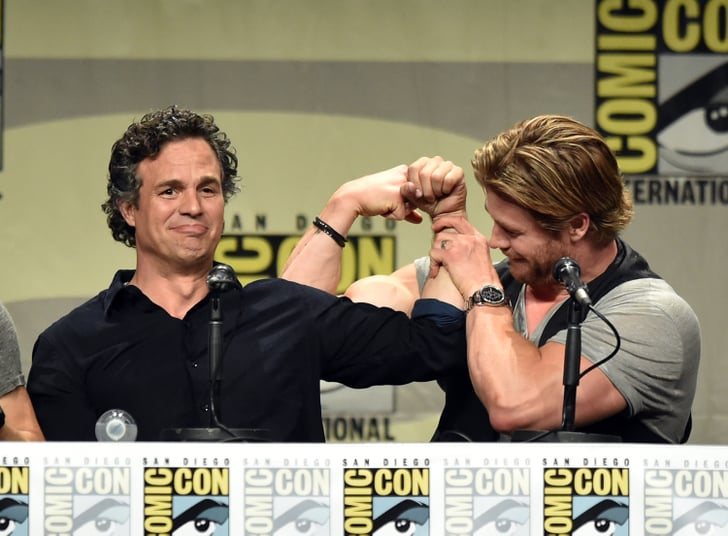 The Amazing Arms of Comic-Con