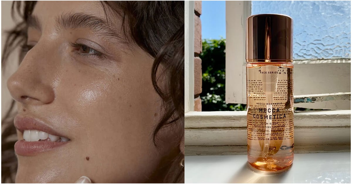Mecca's New Glow-Giver Exfoliating Solution Is the Perfect Dupe For This Cult Fave