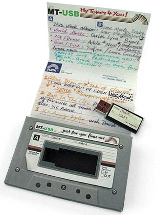 """USB Made For Mixed """"Tapes"""""""