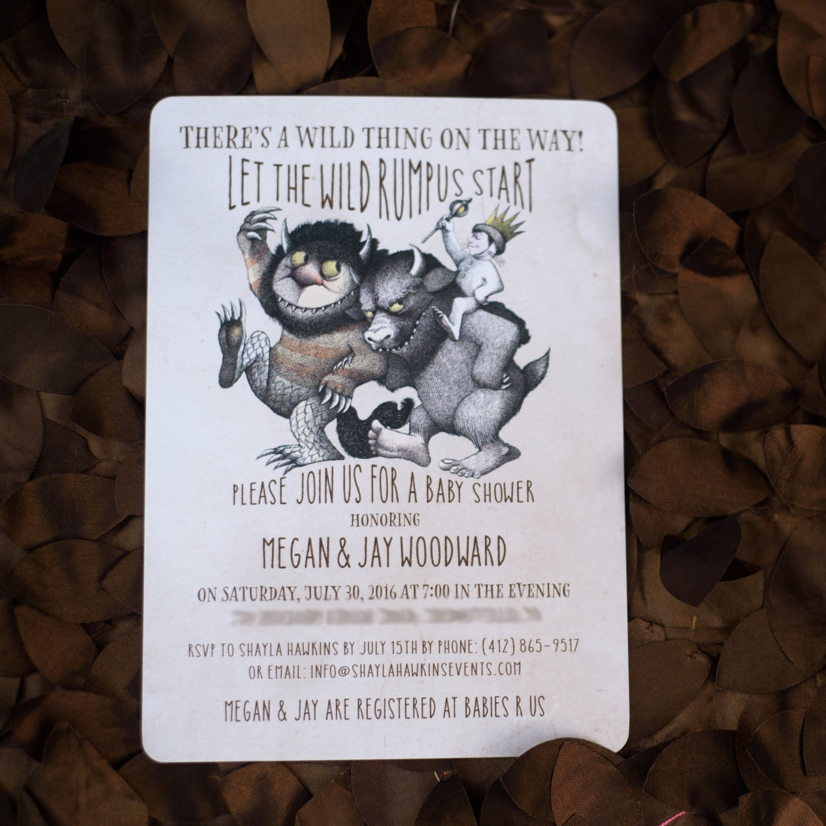 Where The Wild Things Are Baby Shower Popsugar Family