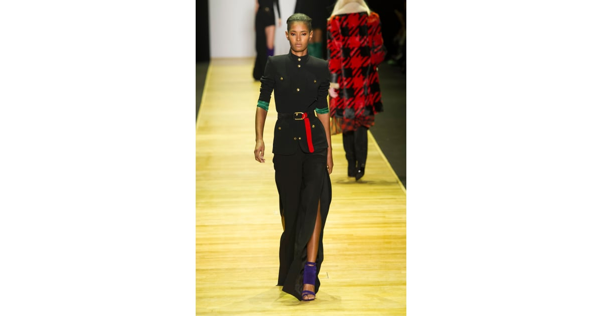 8add0ee3407 Use Your Accessories to Add Brilliant Pops of Color to an All-Black Outfit