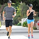 Reese and Jim Are a Couple That Sweats Together