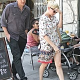 Jason Segel and Michelle Williams hung out in LA.