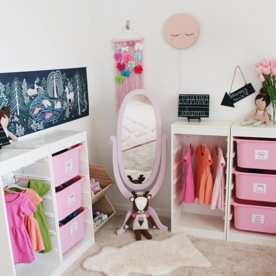 DIY Wardrobe Station For Kids