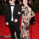 A bold graphic print worked on Amanda Seyfried, who took a turn on the red carpet in Givenchy and Fred Leighton jewels with director Pedro Almodóvar.
