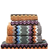 She'll love keeping her bath towels uniform with Missoni's Set of 5 Cotton Towels ($331).