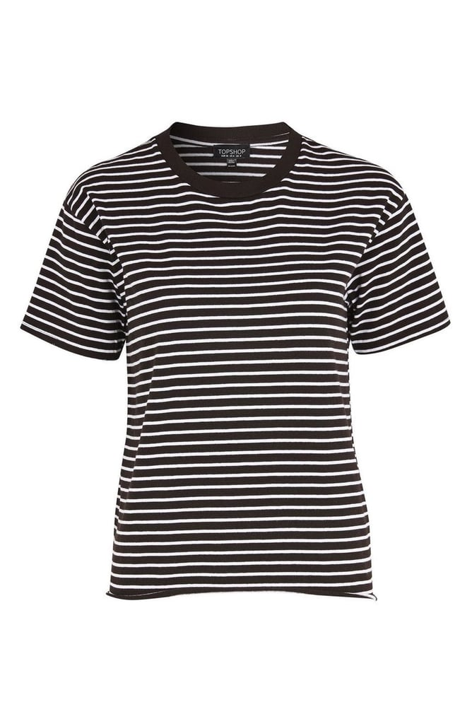 You can wear this Topshop striped tee ($28) long after music festival season ends.