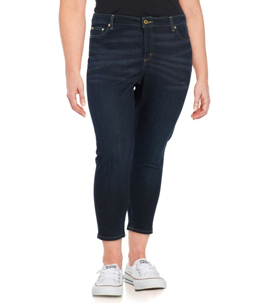 Michael Kors Mid-Rise Cropped Jeans