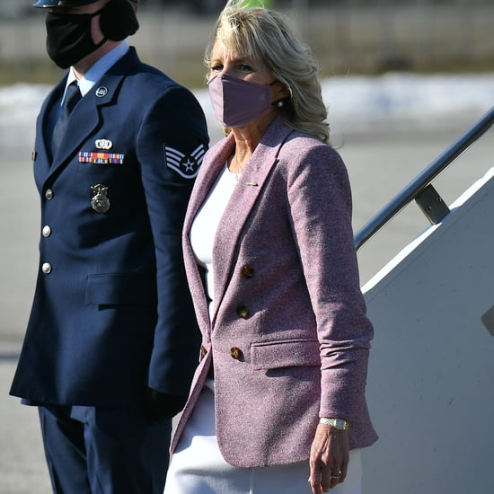 "Jill Biden's ""Superwoman"" Capes Are Veronica Beard Jackets"