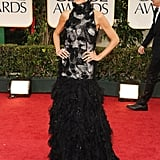 Giuliana Rancic at the Golden Globes.