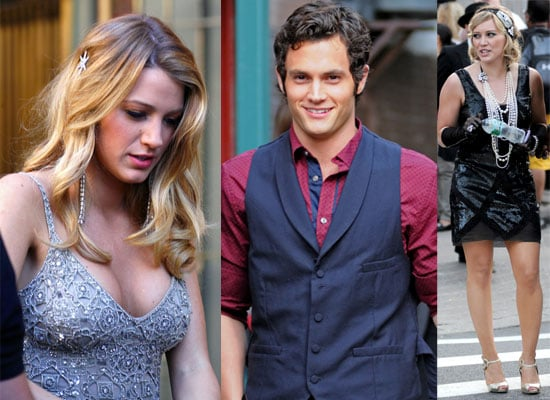 Photos Of Blake Lively, Penn Badgley and Hilary Duff On ...