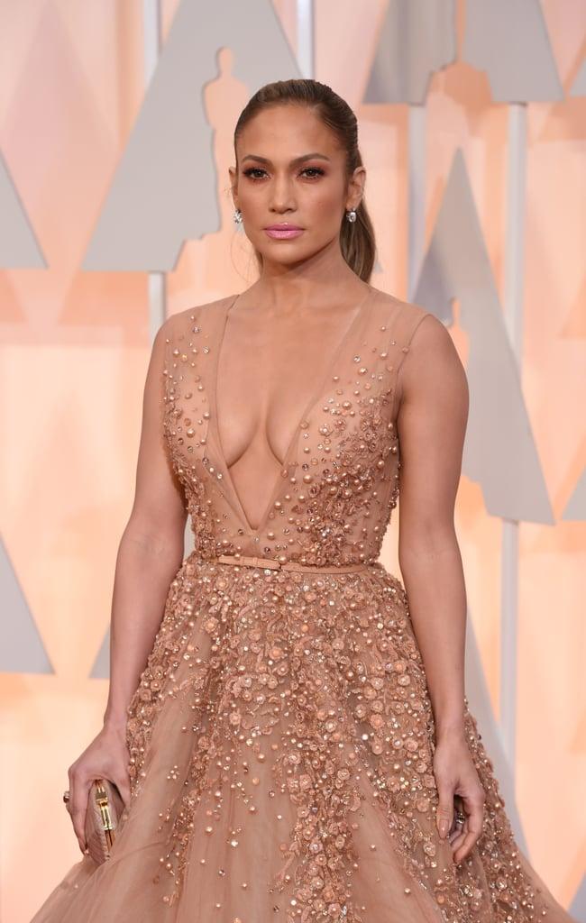Jennifer Lopez's Dress at the Oscars 2015 | POPSUGAR Fashion Jennifer Lopez Dresses