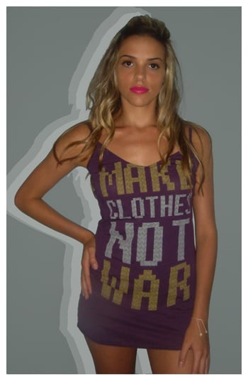 Simply Fab: Gold Saturn Peace Tanks