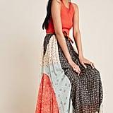 Margot Pleated Maxi Skirt