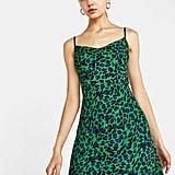 Bershka Leopard Print Dress