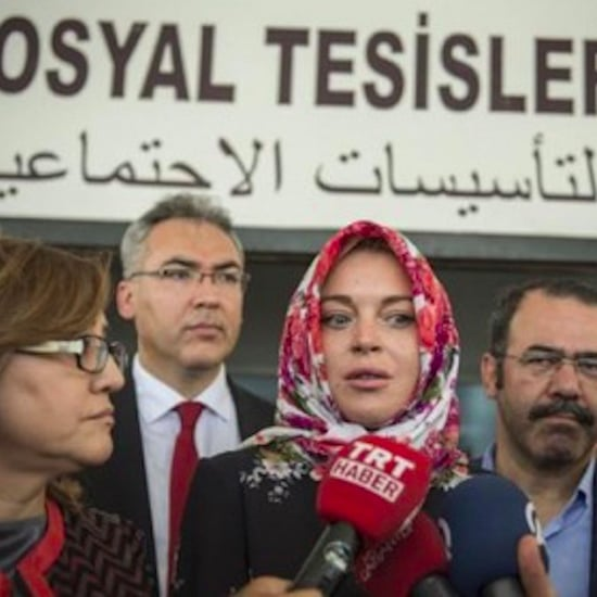 Lindsay Lohan 'Racially Profiled' For Wearing a Headscarf