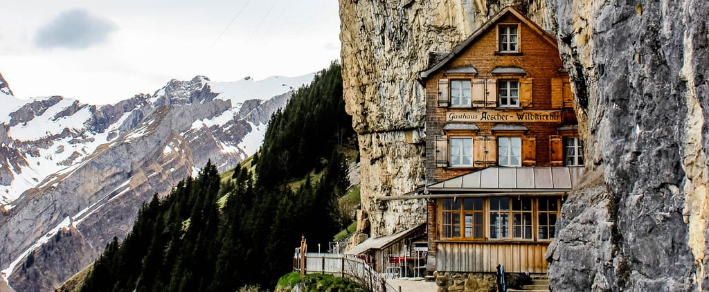 Why You Must Visit This Swiss Cliffside Restaurant Before You Die