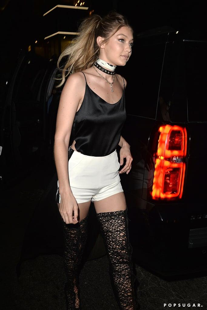 Gigi Hadid 21st Birthday Outfit