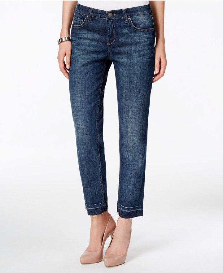 Vintage America Released Hem Boyfriend Jeans ($80)